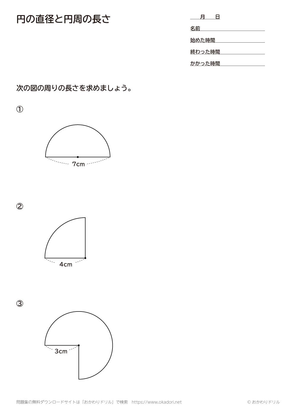 円の直径と円周の長さ3