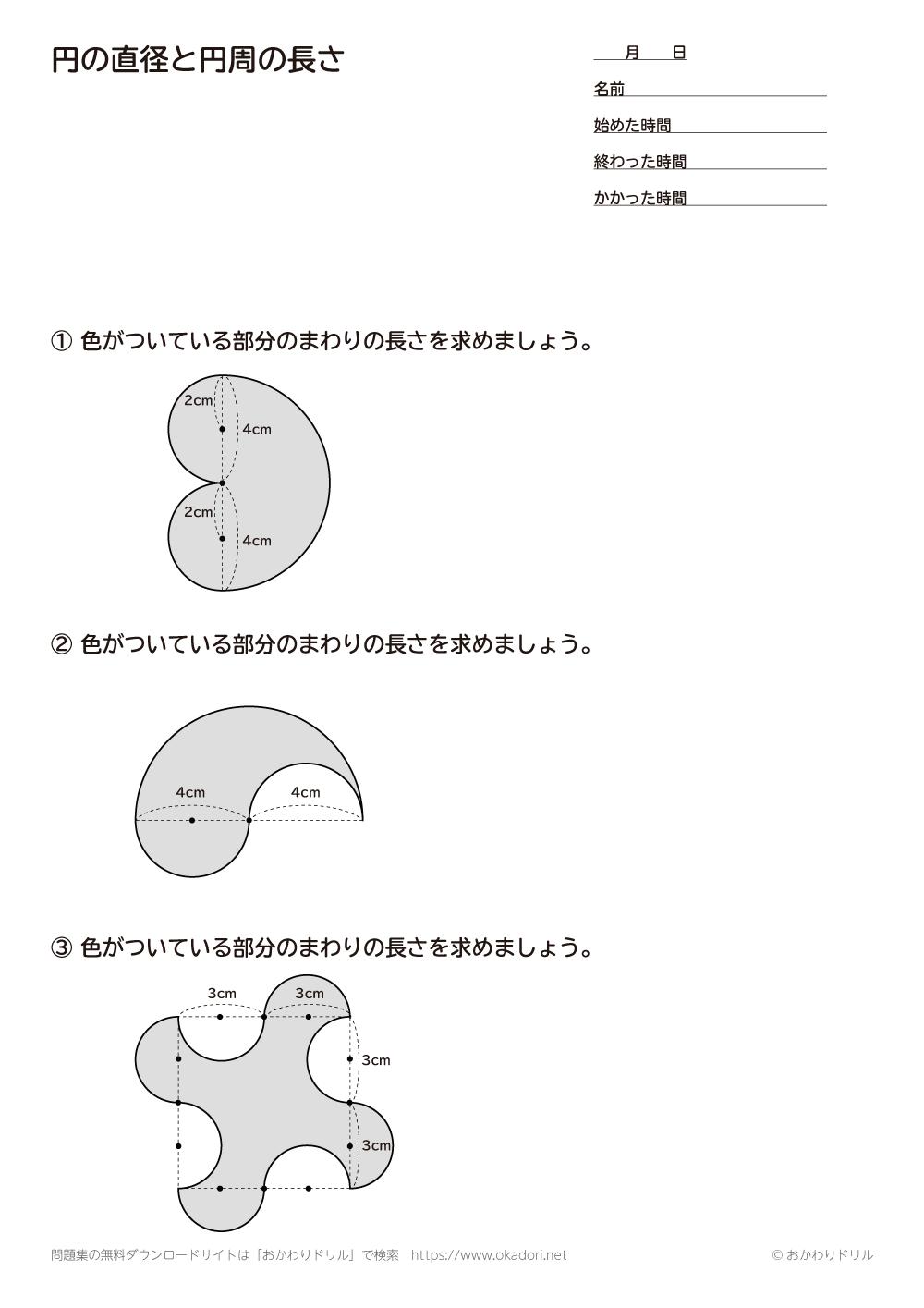 円の直径と円周の長さ6