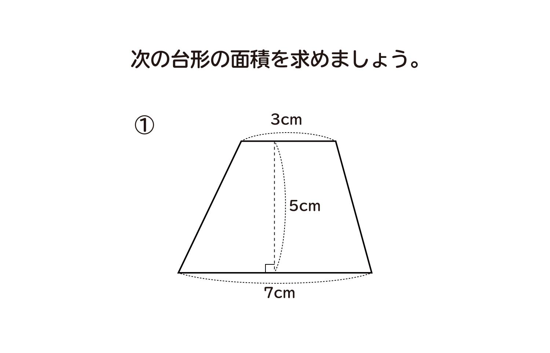 台形の面積