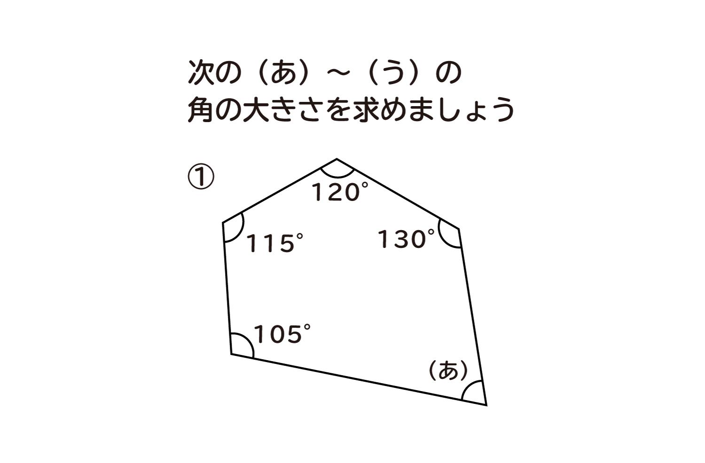多角形の角の大きさ