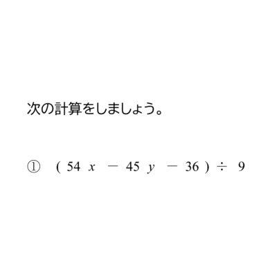 多項式と数の徐法(割り算)